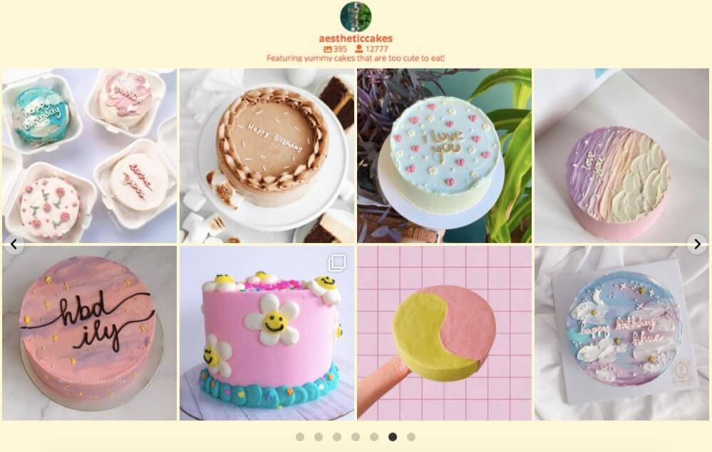 embed instagram on website carousel