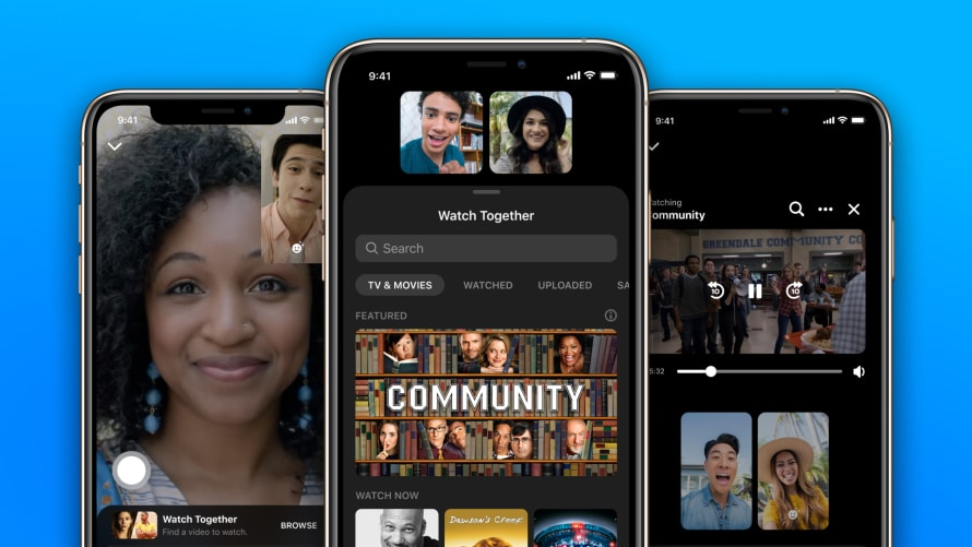 Watch Together brings co-streaming to video calls