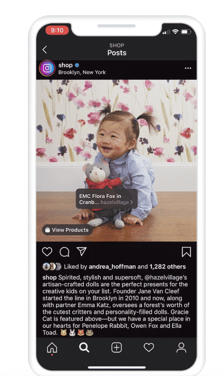 Facebook and Instagram Shop update