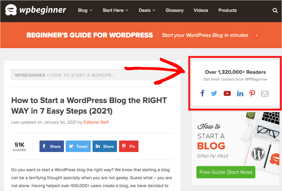 social media widget wordpress icons