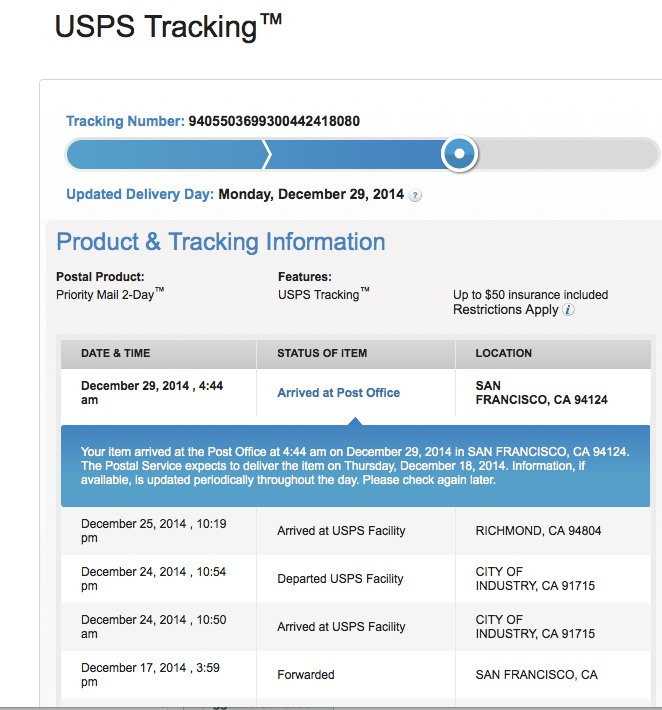 USPS Tracking Mail, Tracking Number & Tracking Information