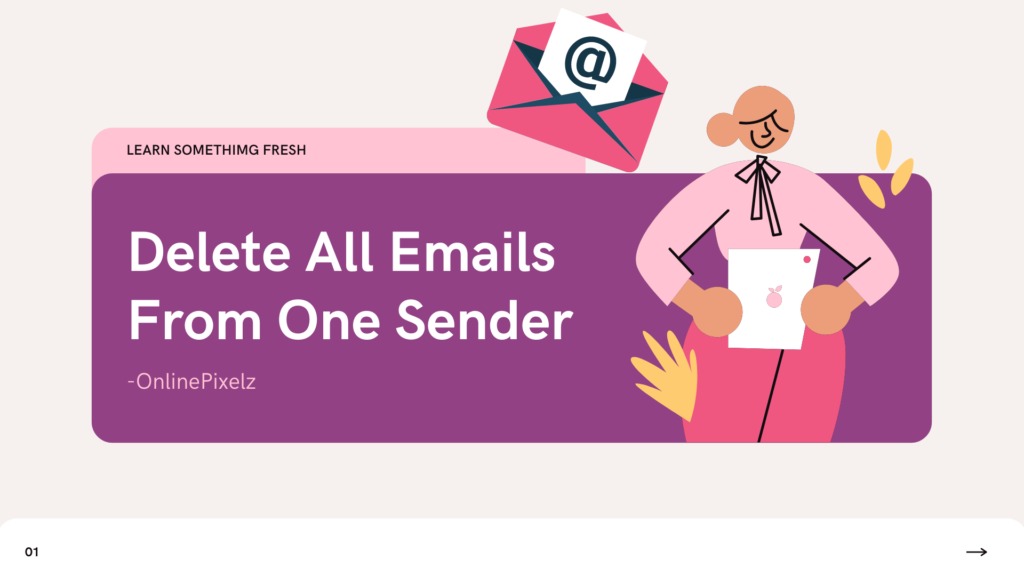How To Delete All Emails From One Sender