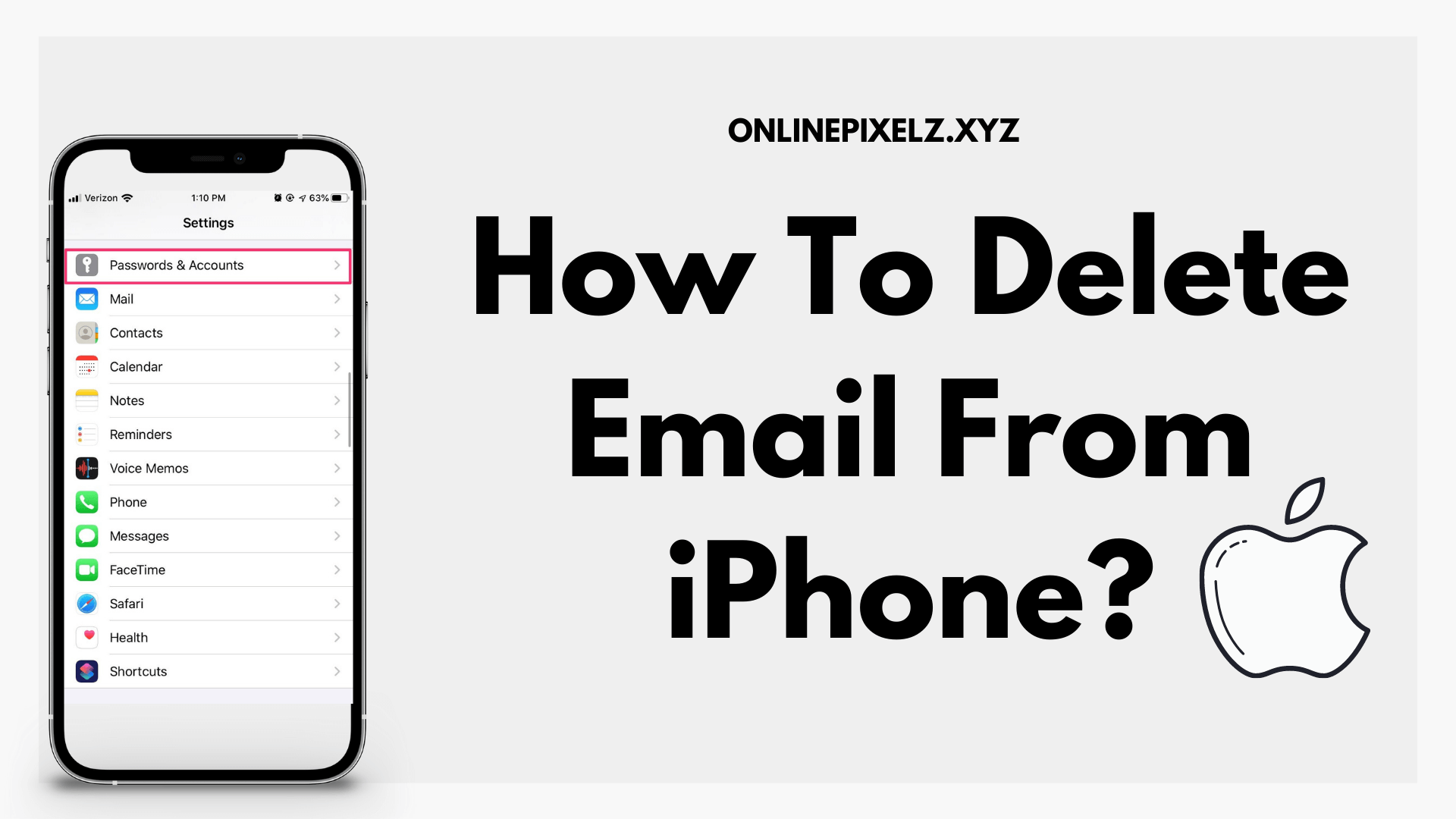 How To Delete Email From iPhone