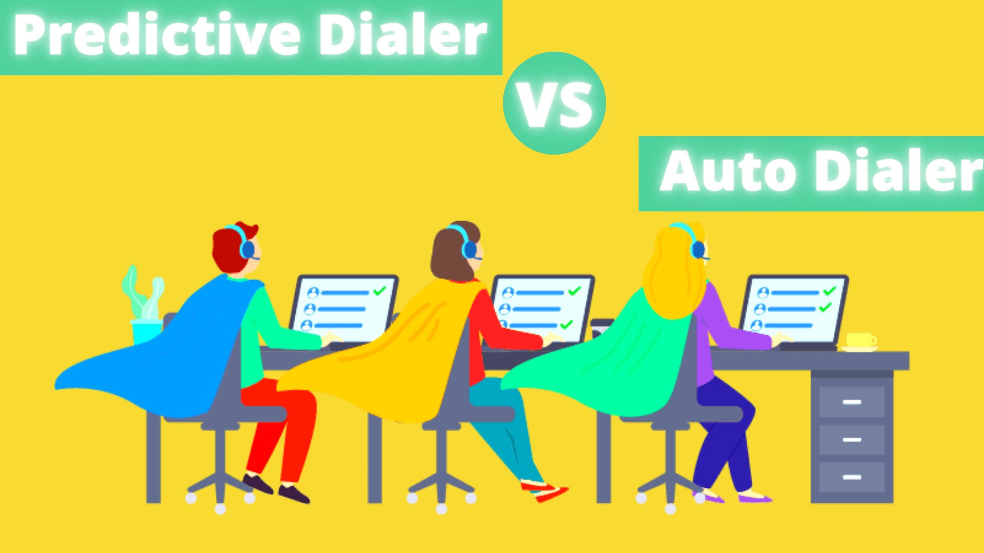 Predictive Dialer Vs Auto Dialer