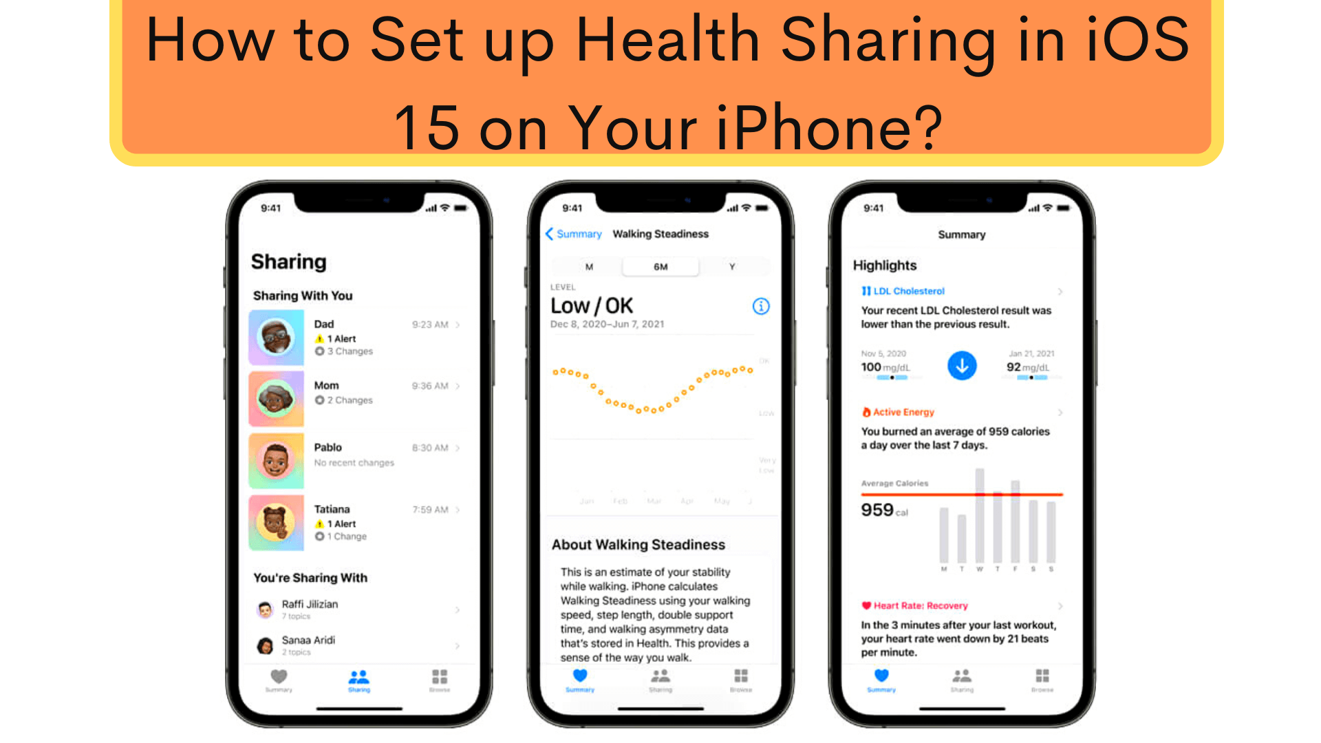 Best Way to Set up Health Sharing in iOS 15 on Your iPhone