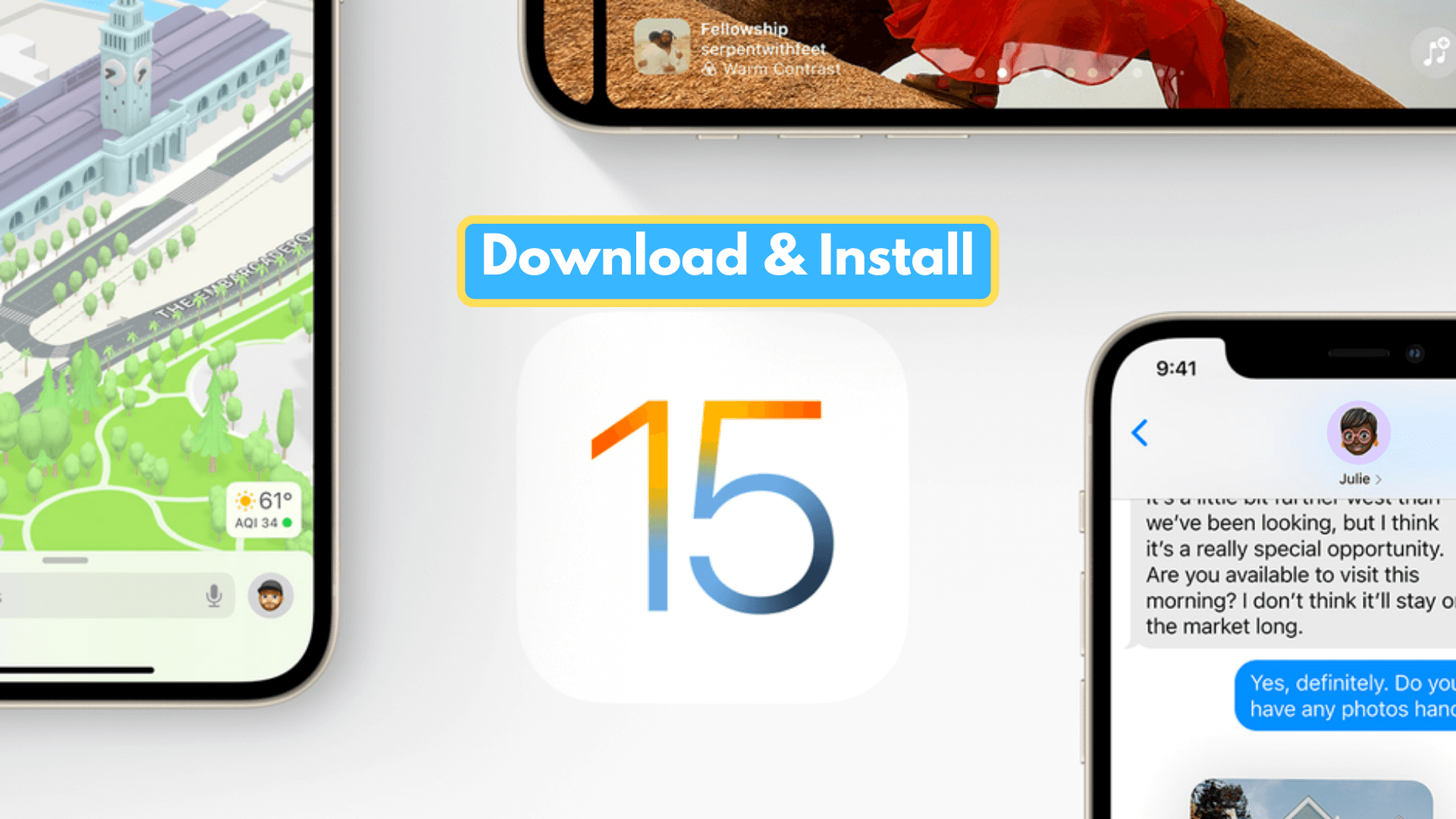 How to Download and Install iOS 15 Public Beta on iPhone