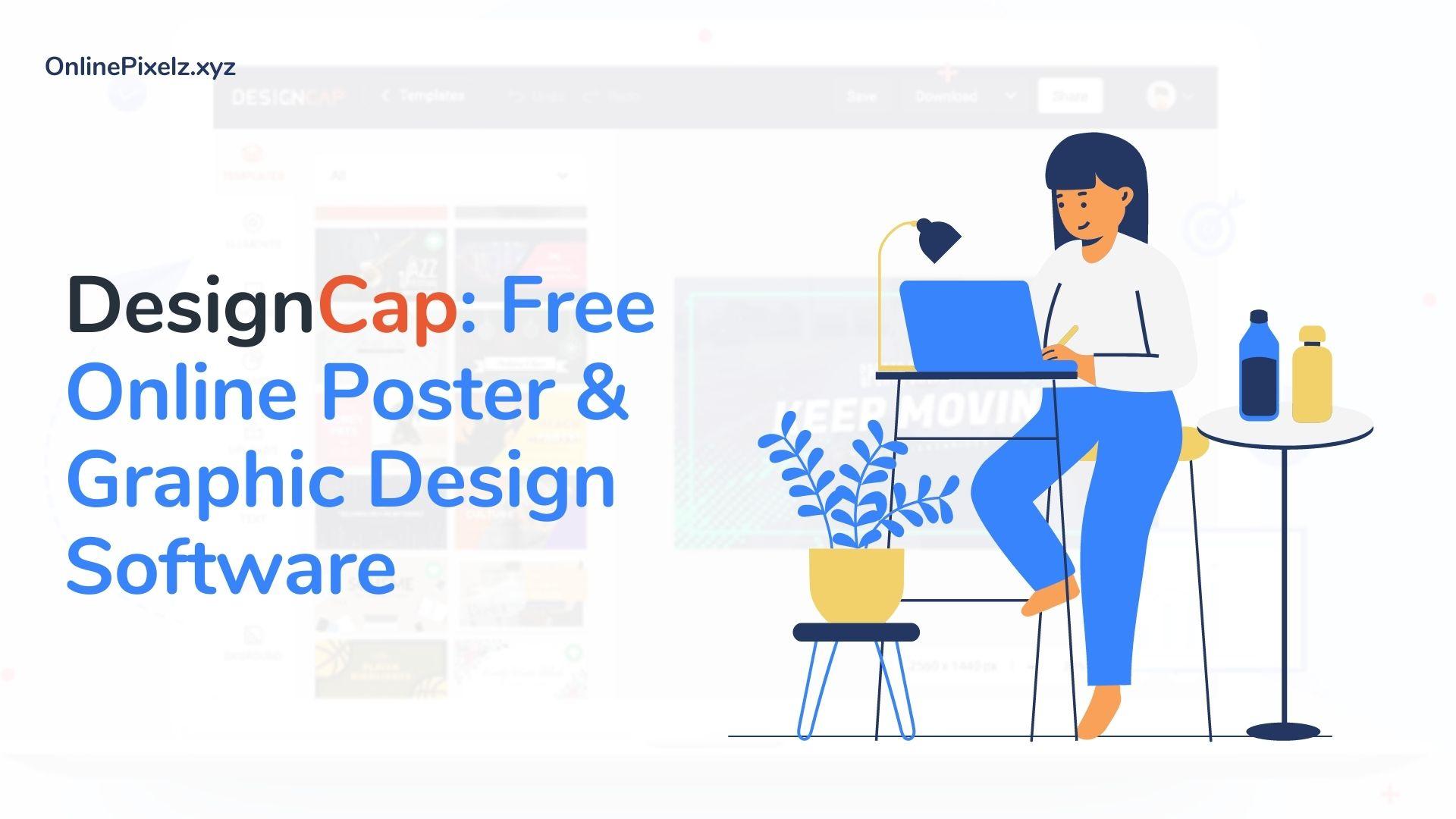 DesignCap: Free Online Poster & Graphic Design Software