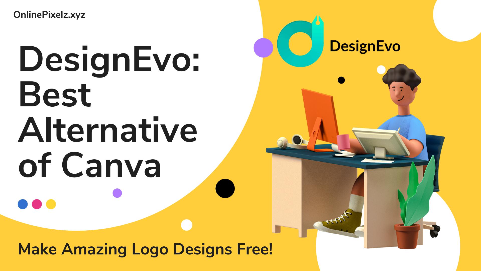 DesignEvo: Best Alternative of Canva
