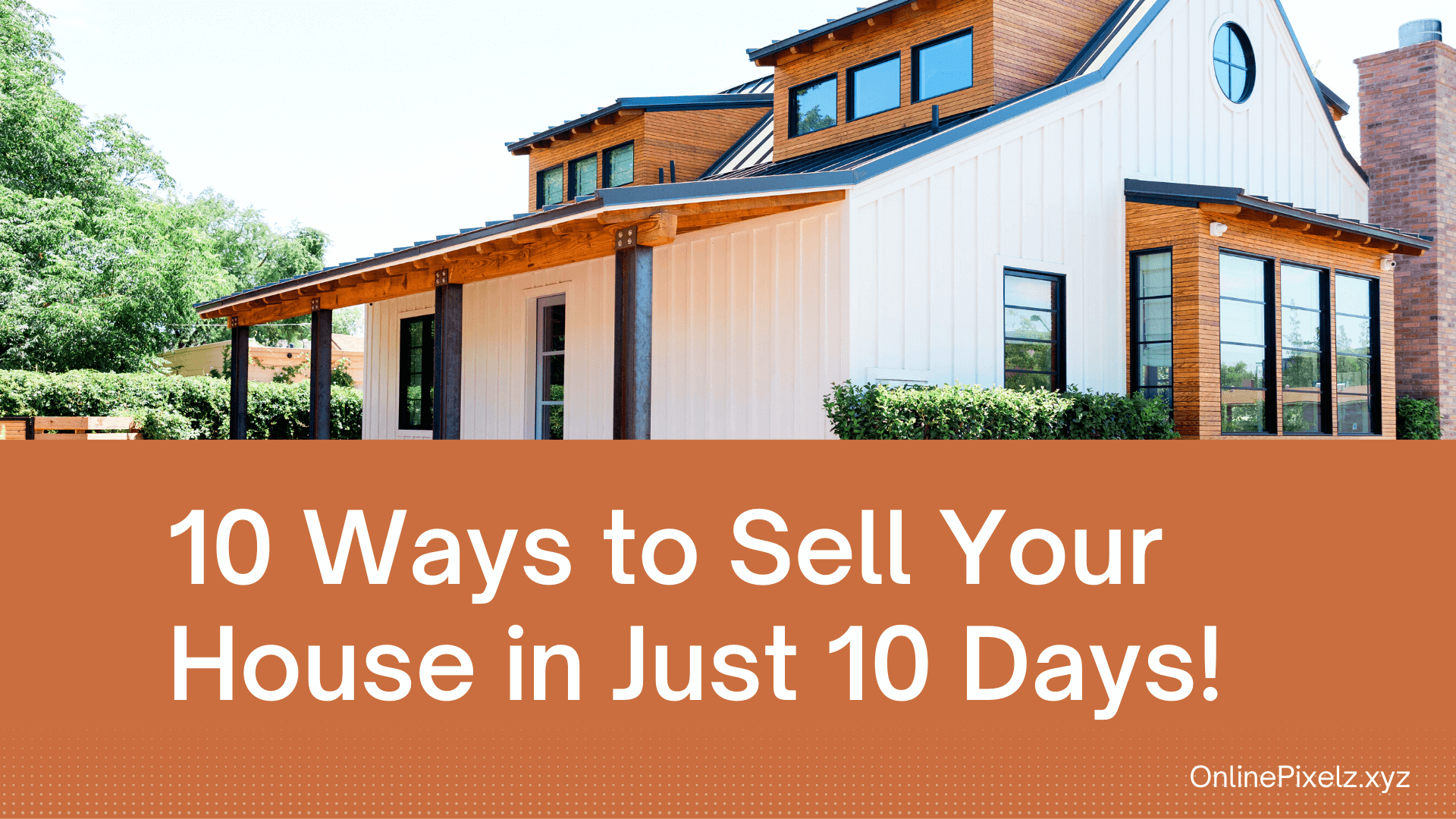 tips To Sell A House Quickly