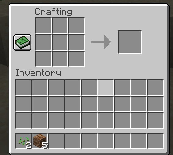 Using Crafting in Minecraft