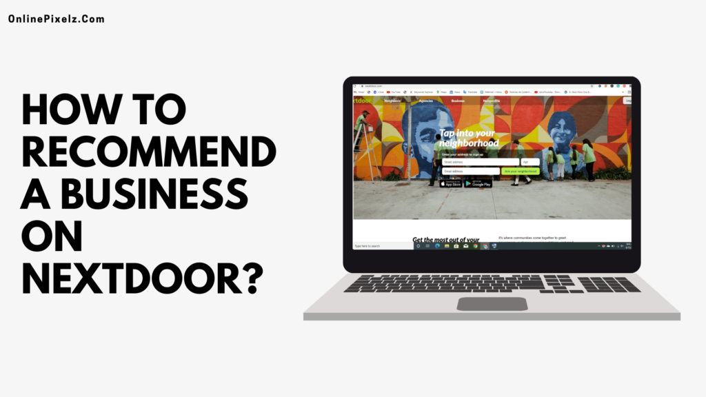 How to Recommend a Business on Nextdoor: Ideas